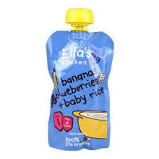 Banana & Blueberry Baby Rice