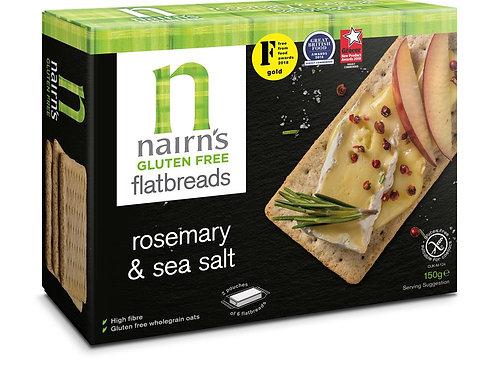 15% OFF Gluten Free Flat Bread Rosemary & Sea Salt