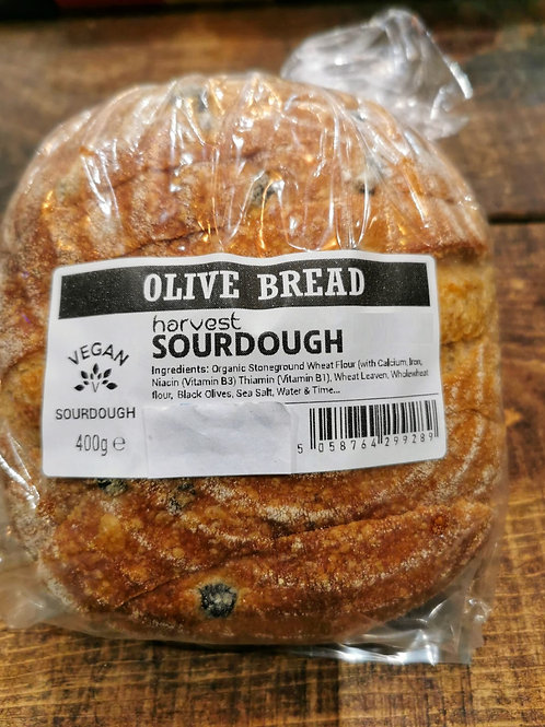 Sourdough Bread - Olive Bread