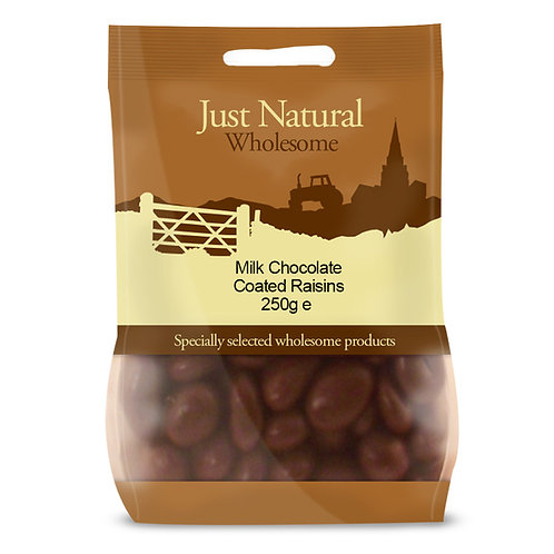 Milk Chocolate Coated Raisins