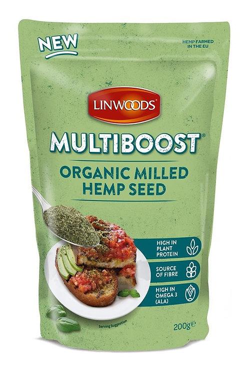 Multiboost Organic Milled Hemp Seed