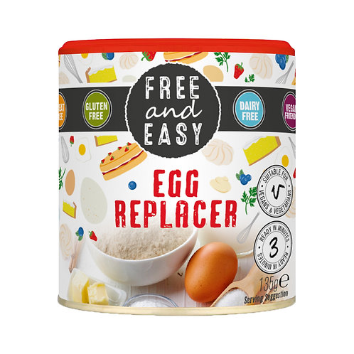 Gluten and Dairy Free Egg Replacer