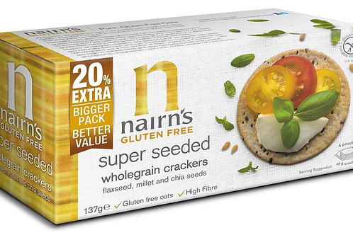 Gluten Free Super Seeded Cracker