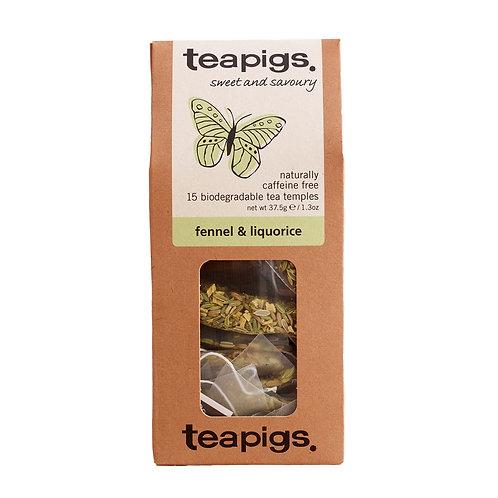 fennel & liquorice 15 tea temples