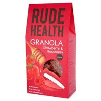 Organic Strawberry & Raspberry Granola 450g