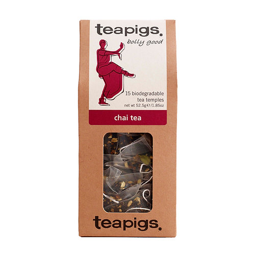 Chai Tea, 15 tea temples