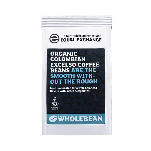 Fair trade & Organic Colombian Excelso Coffee Beans