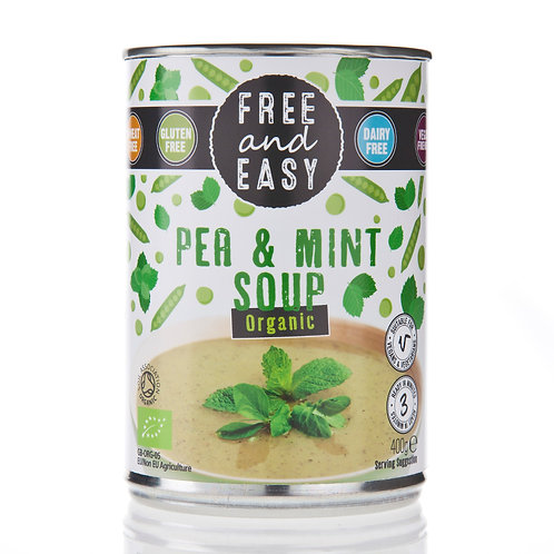 Organic Pea and Mint Soup