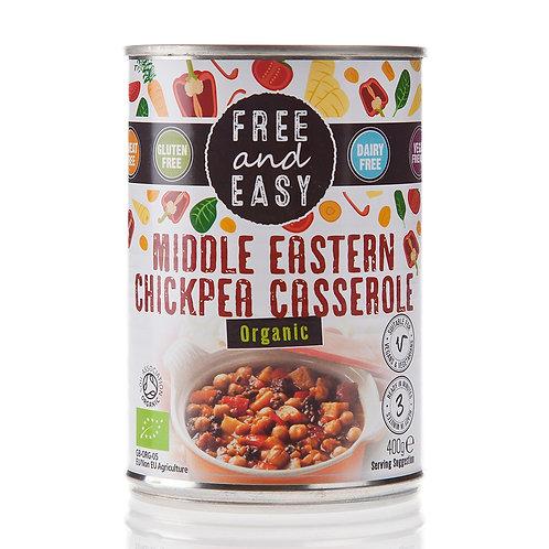 Organic Middle Eastern Chick Pea Casserole
