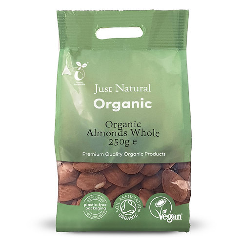 Organic Almonds Whole