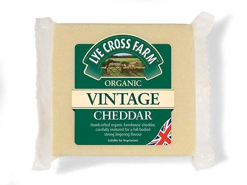 10% OFF Organic Vintage Cheddar