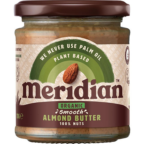 Meridian Organic Smooth Almond Butter 100%