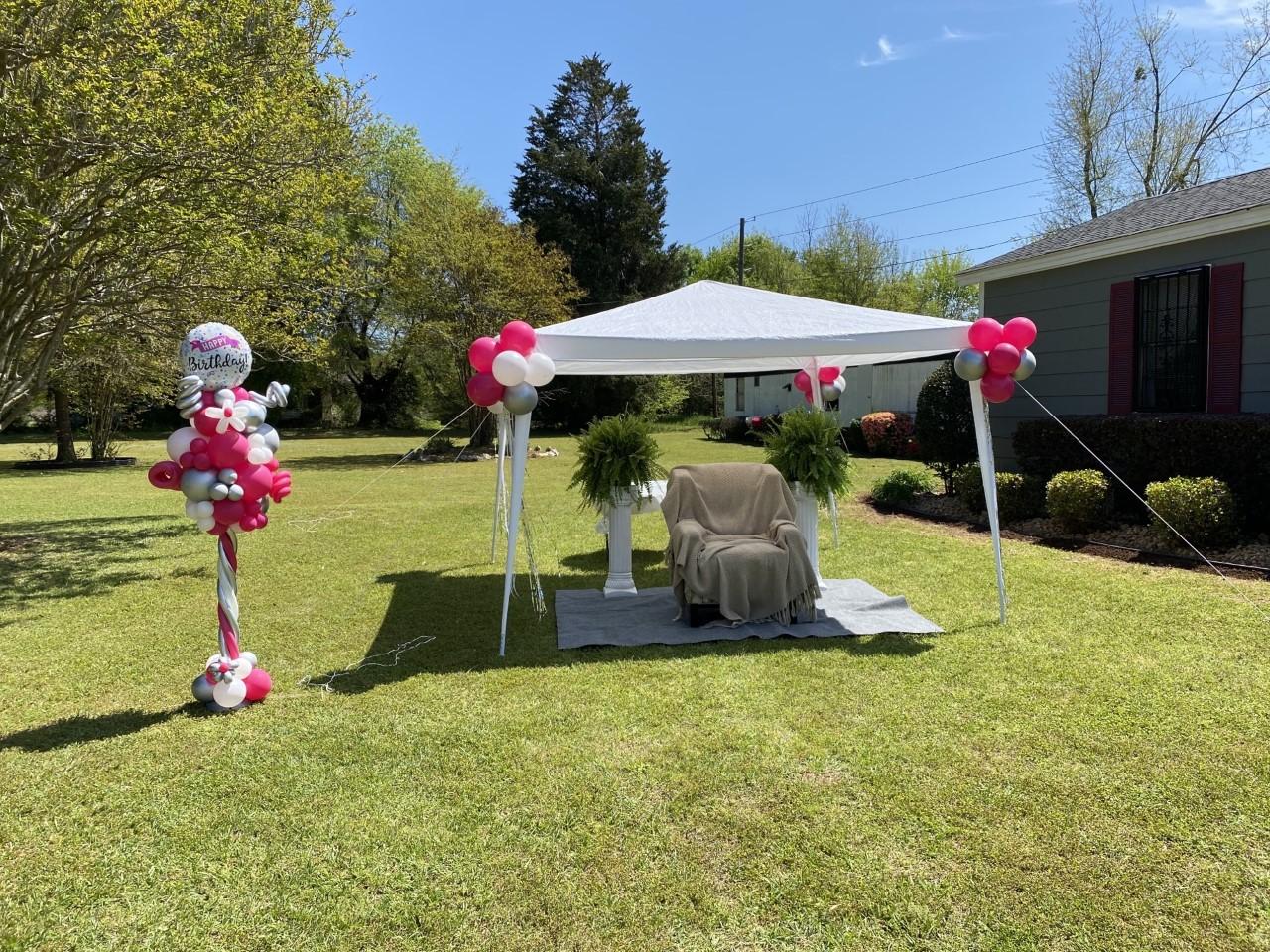 Balloon Pole &Tent 2021