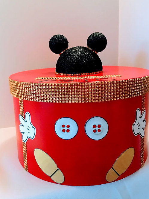 Mickey Mouse Birthday Card Box