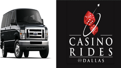 "Check Out Our Vans! ""The #1 Choice of Transportation to The Casino!"""