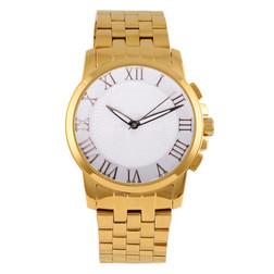 Reloj del metal del oro