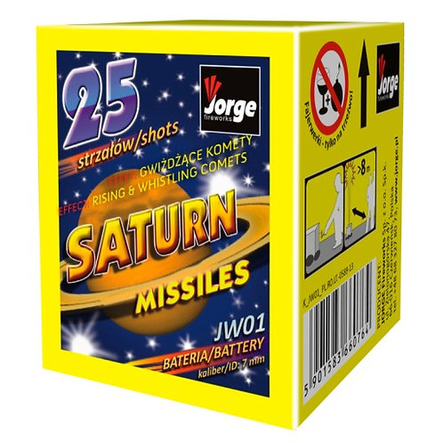 25 shot Saturn Missiles