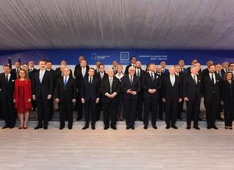 [抵制反猶太主義],40多國元首參加世界大屠殺論壇-里夫林總統在活動中的講話