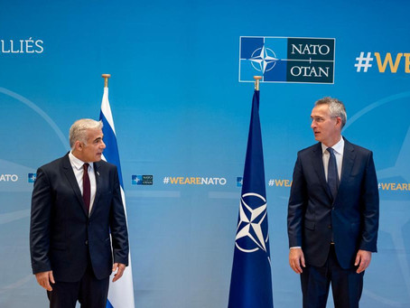 Israel and NATO to strengthen strategic cooperation