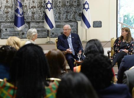 里夫林總統主持了女性外交官會議