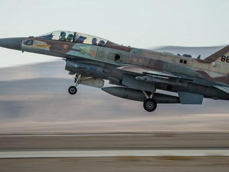 IDF向哈马斯发射火箭弹,报复昨晚哈马斯的火箭弹袭击