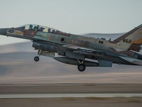 IDF向哈馬斯發射火箭彈,報復昨晚哈馬斯的火箭彈襲擊