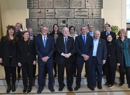 里夫林總統主持了2020沃爾夫獎頒獎典禮