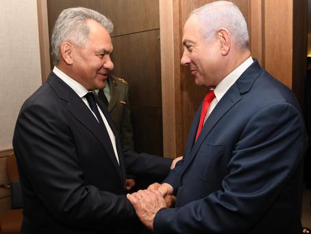 [最新]以色列總理內塔尼亞胡會見俄羅斯國防部長謝爾蓋·紹伊古