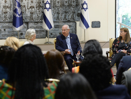 President Rivlin hosted the Women in Diplomacy Network at Beit HaNasi