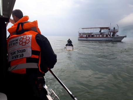 以色列無國界醫療機構緊急演練-燃燒船的海上救援