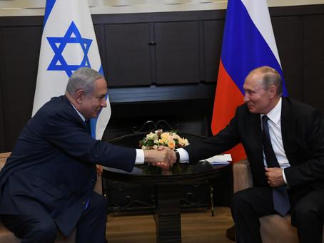 俄羅斯最新-普京總統祝賀內塔尼亞胡總理生日快樂