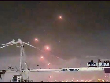 「突發」哈瑪斯發射許多火箭彈攻擊以色列