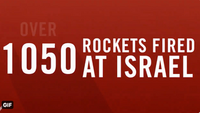 最新-哈瑪斯與伊斯蘭聖戰組織的飛彈攻擊以色列1050數次,飛彈像下雨一樣多!