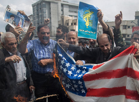 美國制裁伊朗18家銀行,限制伊朗繼續行邪惡!