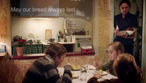 may our bread always last 願我們的麵包永遠持久!(Englishi)