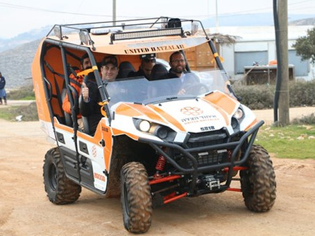 New Lifesaving ATV to Aid Gush Shiloh Residents