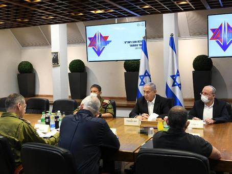 内塔尼亚胡总理目前正在举行安全會議