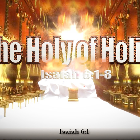 The Holy of Holies