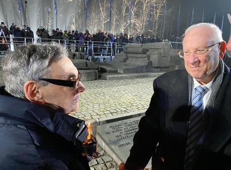 里夫林總統與世界50名領導人參加了國際大屠殺紀念日儀式