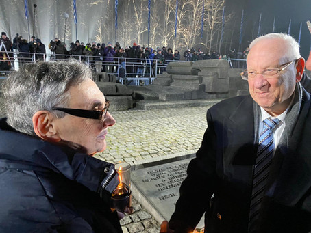 President Rivlin's visit to Poland and Germany to mark 75 years since the liberation of Auschwitz-Bi