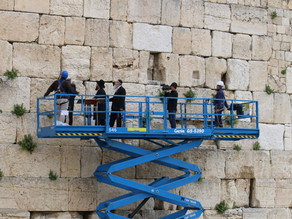 耶路撒冷西牆維護工作|國際頭條