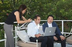 劉祥永先生在以色列首屆國際電視格式大會交流照片