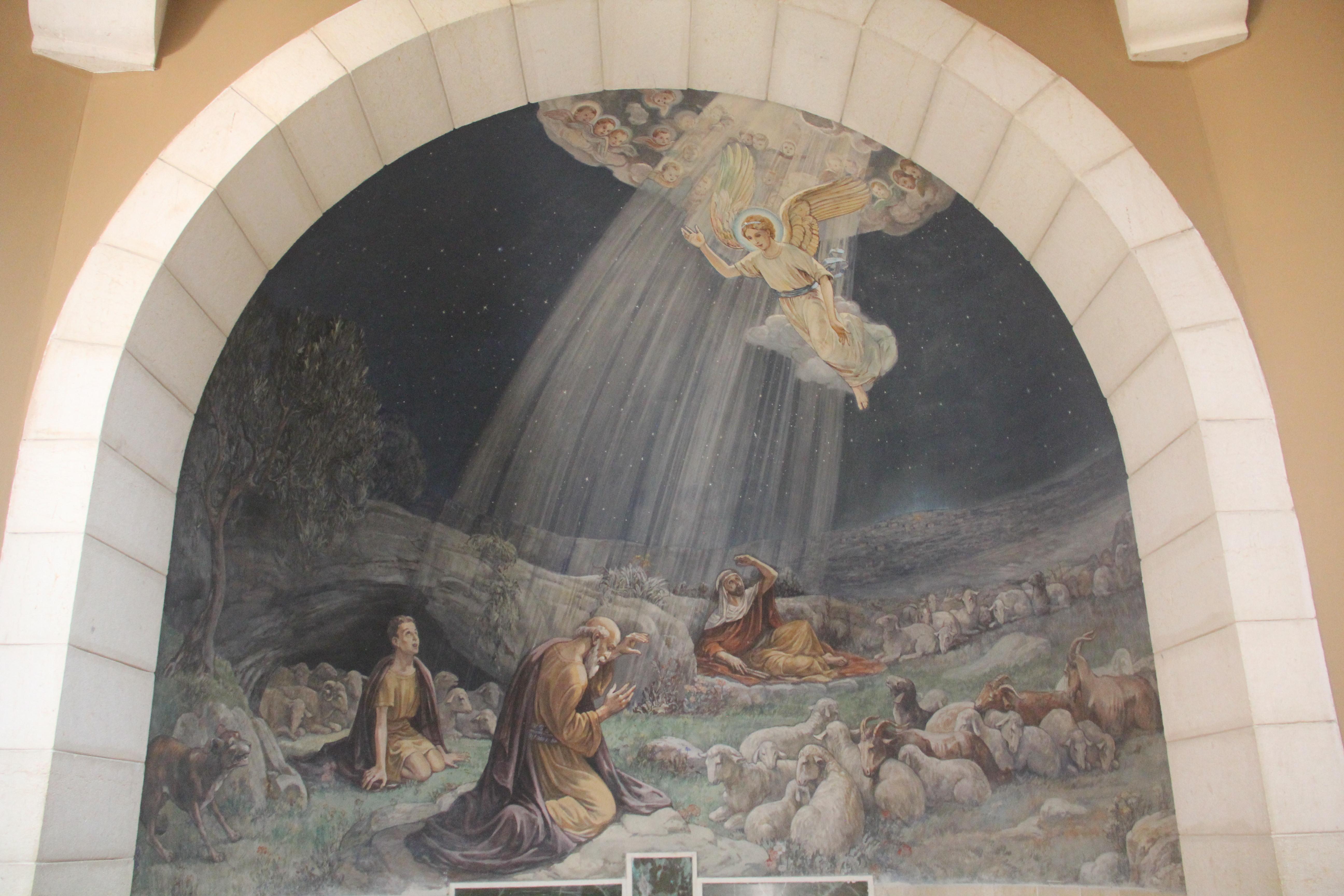 【伯利恆曠野】這是天使向牧羊人報彌賽亞降生喜訊的地方009