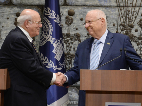 President Rivlin received the official results of the elections for the 22nd Knesset