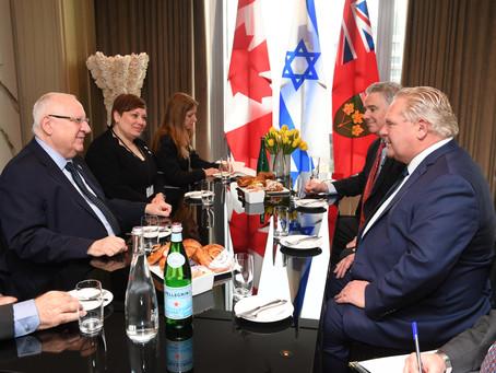 加拿大安大略省堅決反對反猶太運動