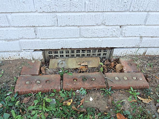 damaged Foundation Vent Charlotte NC
