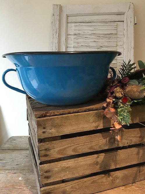 Vintage Enamel washbowl