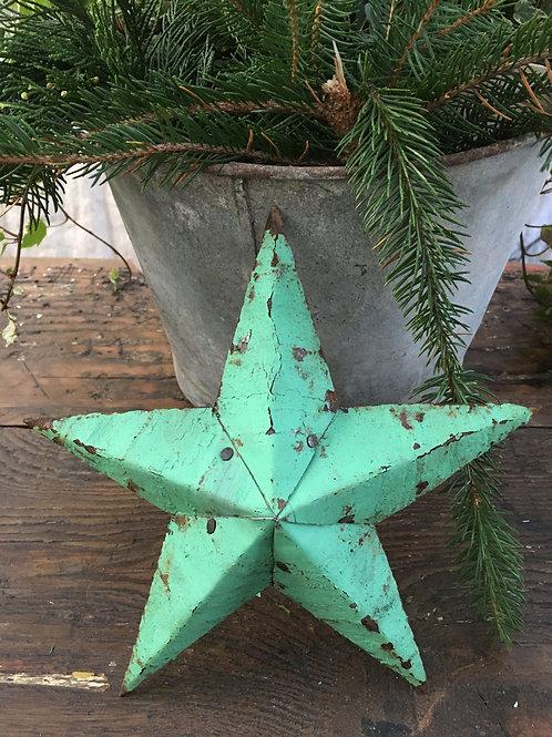 Amish star.. green
