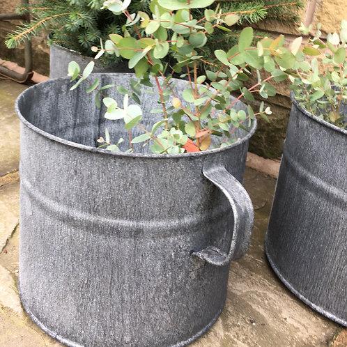 Zinc planter