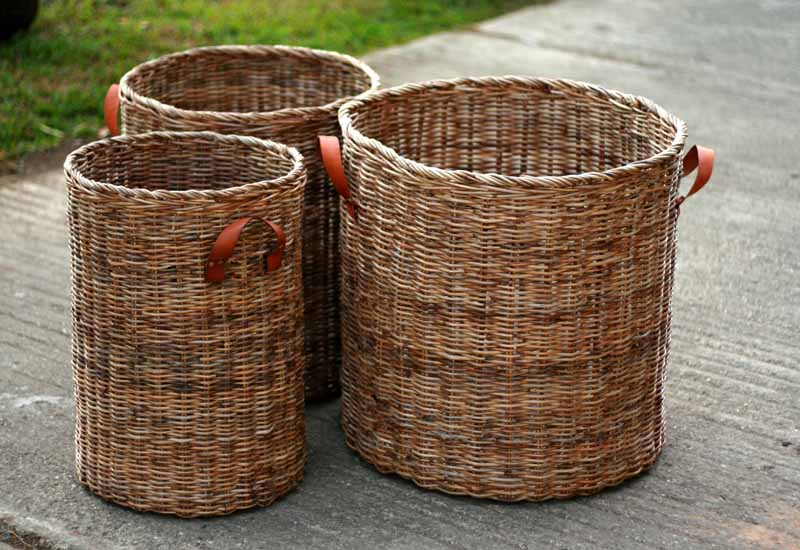 Kabu Round Baskets